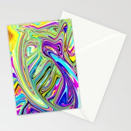 Chrome Stationery Cards