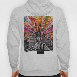 Linocut New York Blooming Hoody