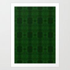 Fun With Light 5 Emerald Art Print