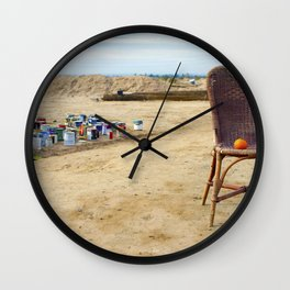 Come and sit  Wall Clock