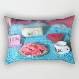 Doll Tea Party Rectangular Pillow