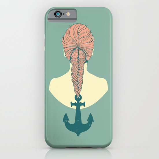 Fish and Anchor iPhone & iPod Case