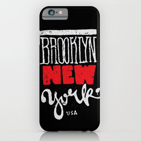 Brooklyn New York iPhone & iPod Case