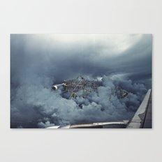 Cloud Park Canvas Print