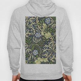 William Morris Seaweed Pattern Hoody