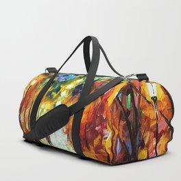Romantic Starry Night Duffle Bag