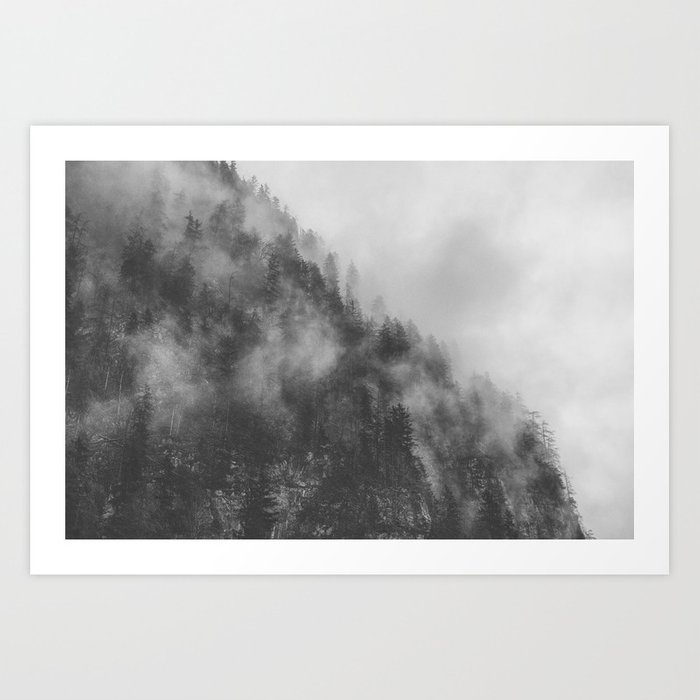 Moody clouds 3 Art Print
