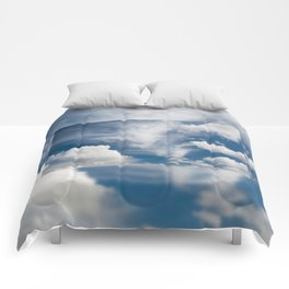White various clouds formation Comforters