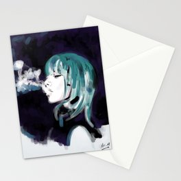 Smoking Colors. Stationery Cards