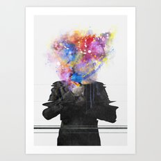 Glitch Mob Art Print