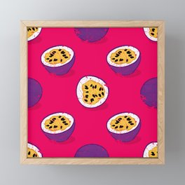 Passion fruit Framed Mini Art Print