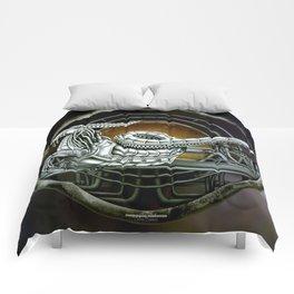 """Astrological Mechanism - Capricornus"" Comforters"