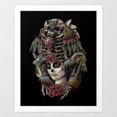 Day of the Dead (Ancient Guardians) Art Print
