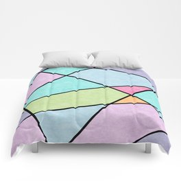 Frosted pastel Comforters