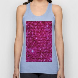 SparklE Hot Pink Unisex Tank Top