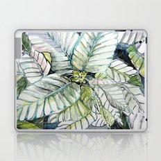 Poinsettia Watercolors Laptop & iPad Skin