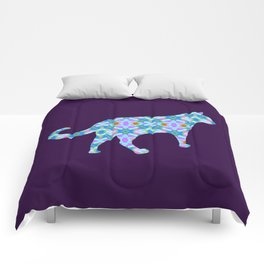 Colorful Cat Comforters