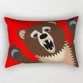 The Bear Says Boo Rectangular Pillow