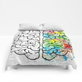 Logic vs Creativity Comforters