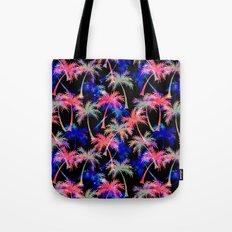 Falling Palms - Nightlight Tote Bag