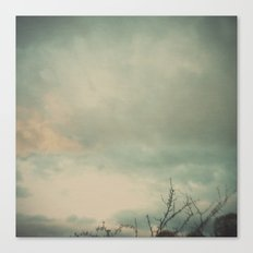 The skies they were ashen and sober Canvas Print