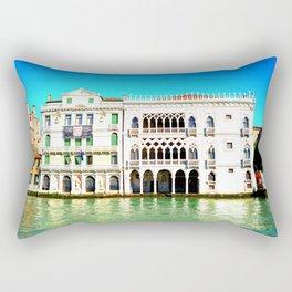 Ca' D'Oro Palace - Venice, Italy Rectangular Pillow