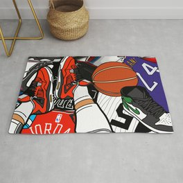Sneakerhead Lifestyle Rug