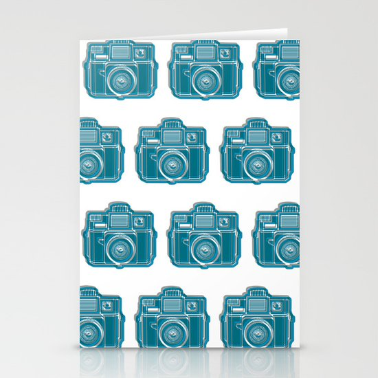 I Still Shoot Film Camera Logo Stationery Cards