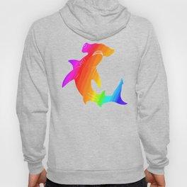 Rainbow hammerhead Hoody