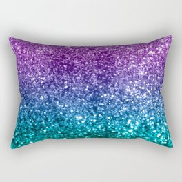 Unicorn Girls Glitter #10 #shiny #decor #art #society6 Rectangular Pillow