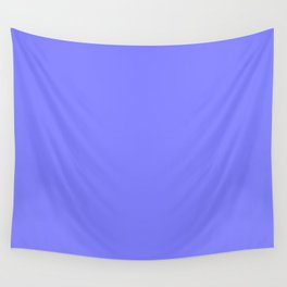 Periwinkle Solid Color Wall Tapestry