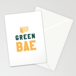 Green Bae | GB Packers Stationery Cards