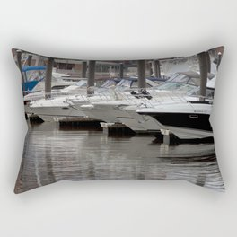 Boats at the Inner Harbor Rectangular Pillow