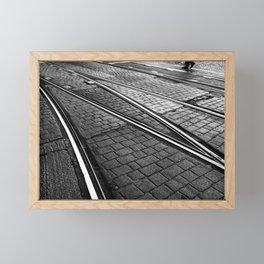 Evening Commute Framed Mini Art Print