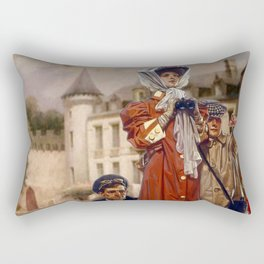 New Money Rectangular Pillow