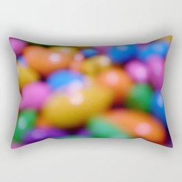 Colorful Sunflower Seeds Rectangular Pillow