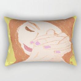 She Prayed Rectangular Pillow