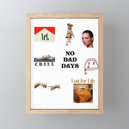 MIX03 Framed Mini Art Print