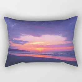 Broken sunset by #Bizzartino Rectangular Pillow