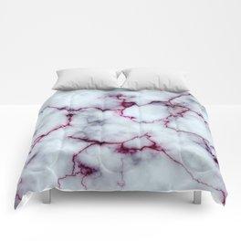 Blood Marble Comforters