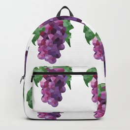 grapes 3x3 pattern, fill, repeating, tiled | elegant Backpack