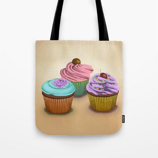 Cupcakes!  Tote Bag