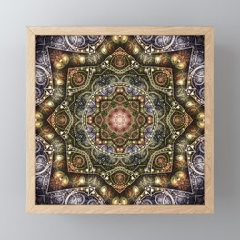 Mandalas from the Voice of Eternity 8 Framed Mini Art Print