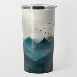 Mountain Sunrise II Travel Mug