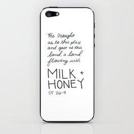 Milk + Honey iPhone Skin
