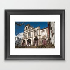 Portuguese church Framed Art Print