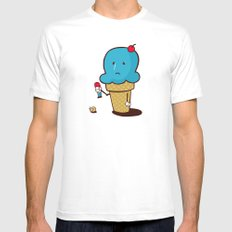 Ice Cream Mens Fitted Tee White MEDIUM