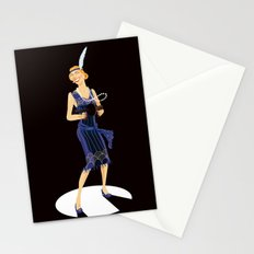 Flapper Stationery Cards