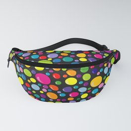 Colorful drops seamless background Fanny Pack