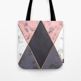 Marble Geometry 018 Tote Bag